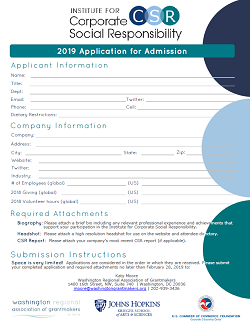 2019 Application